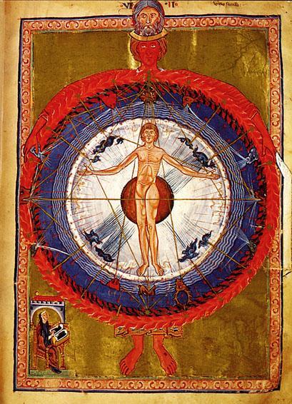Adam Kadmon. Hildegard von Bingen: Liber Divinorum Operum.