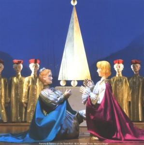 Scène van Amsterdams marionettentheater